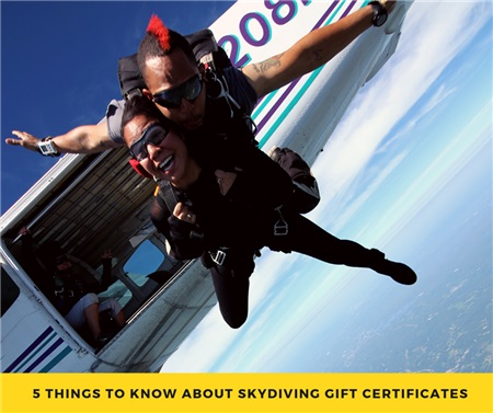 Sky Diving Gifts