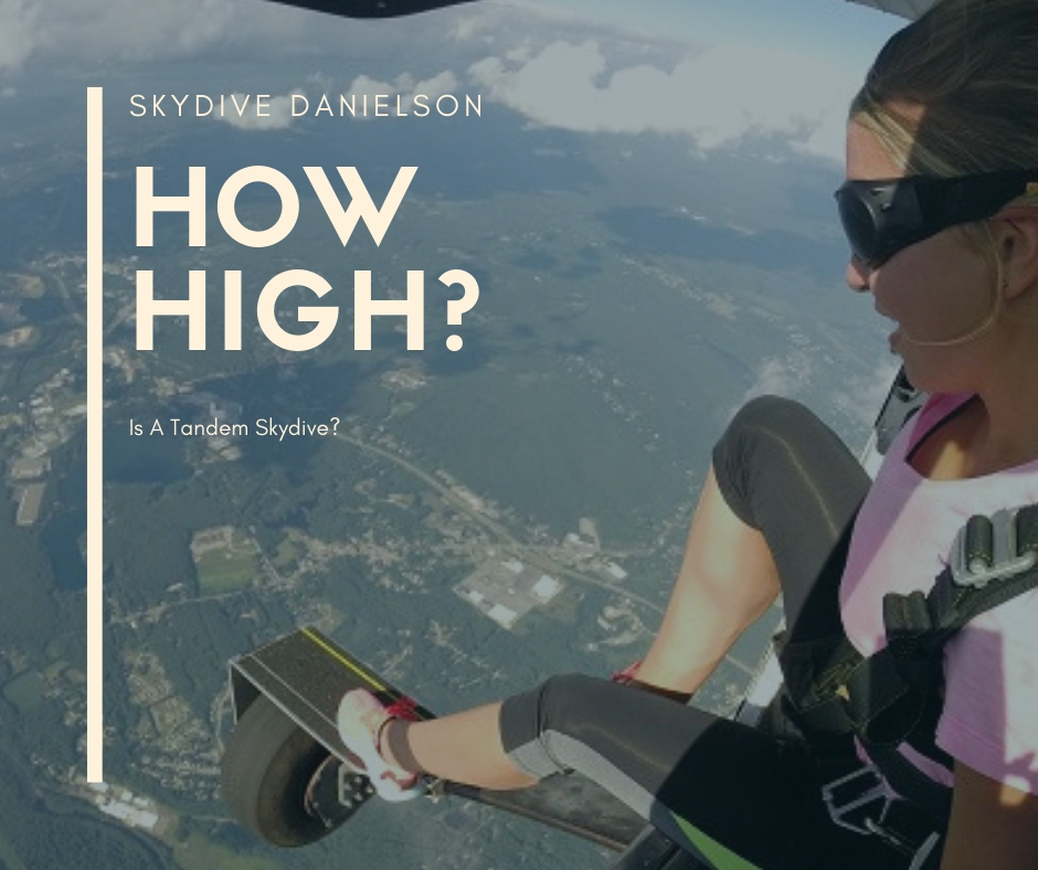 How High Is A Tandem Skydi