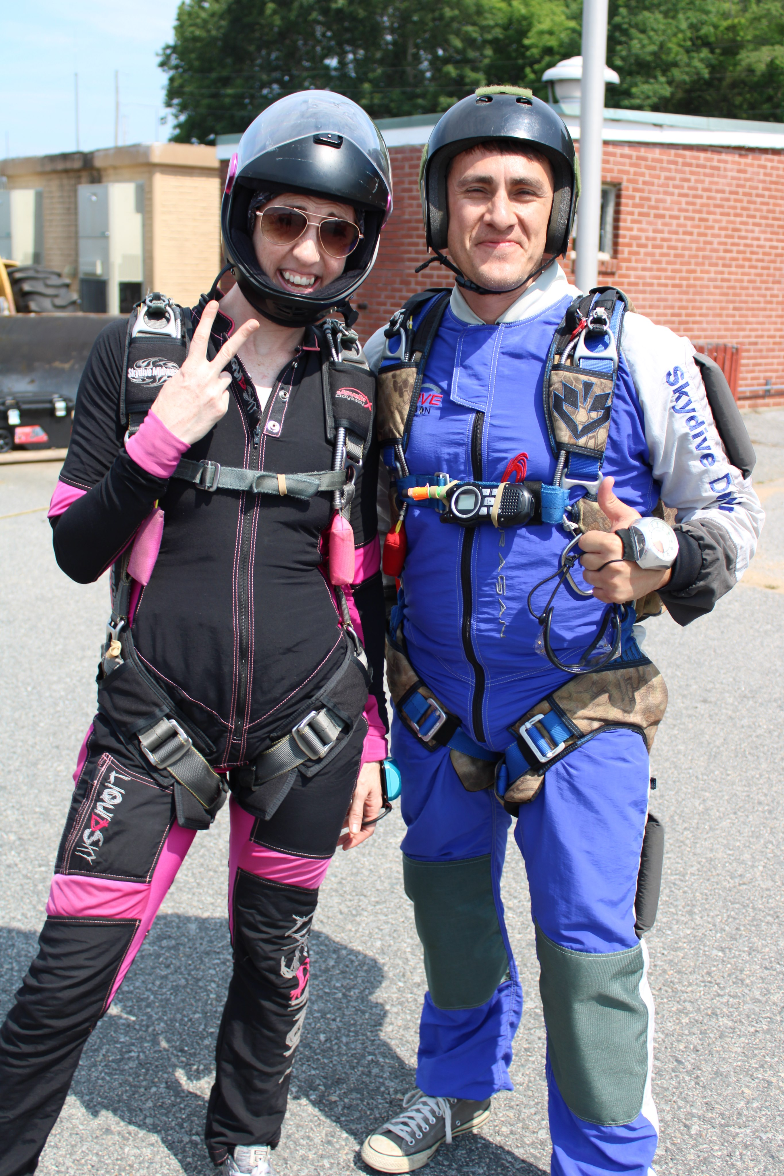 Learning to skydive in CT
