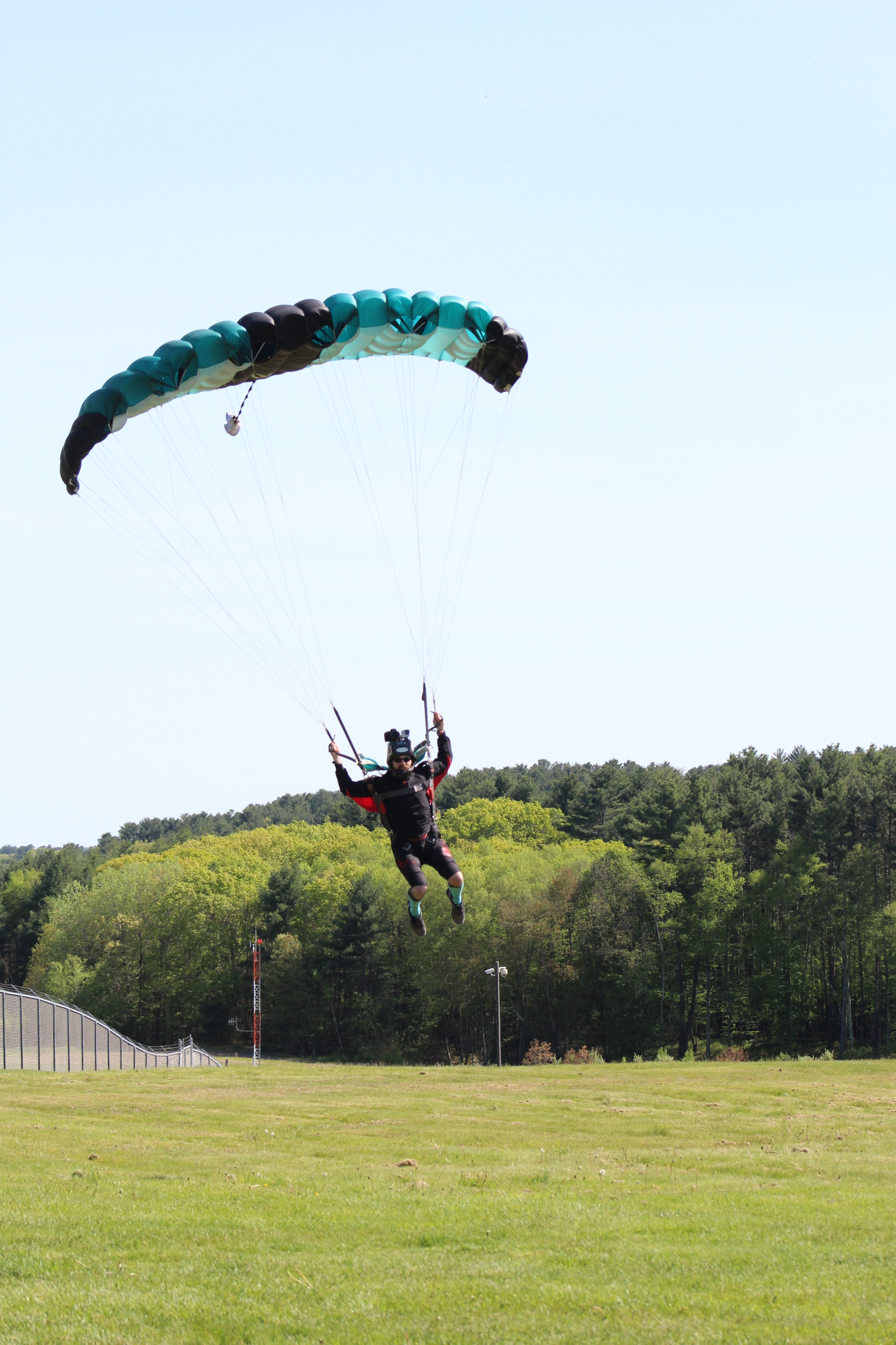 Ram air parachutes are softer for landings