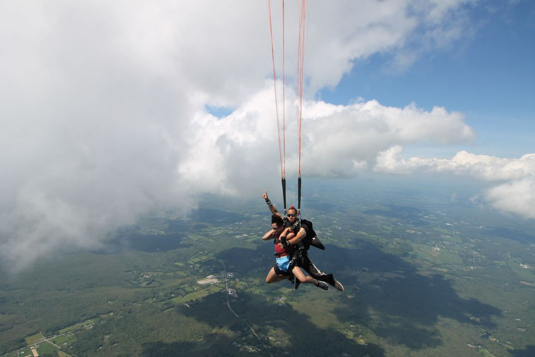 Can I Skydive When It's Cloudy?
