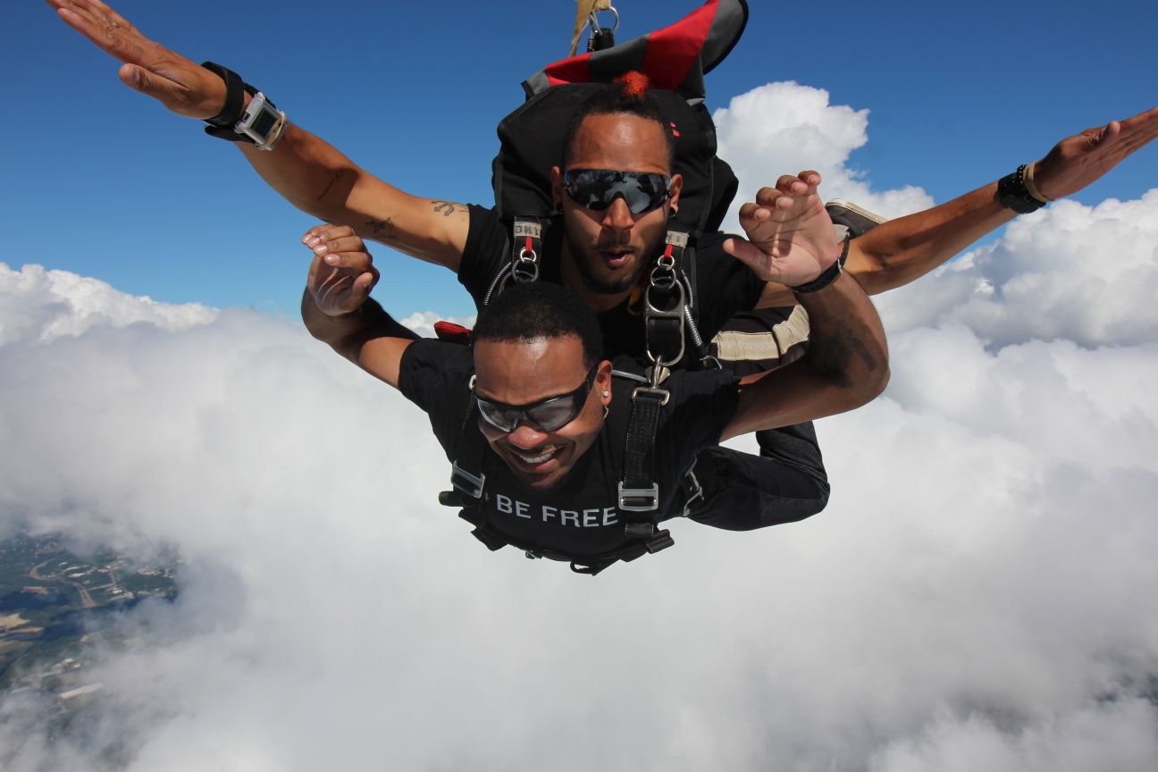 Qué Se Siente Al Hacer Un Salto En Paracaídas Por Primera Vez