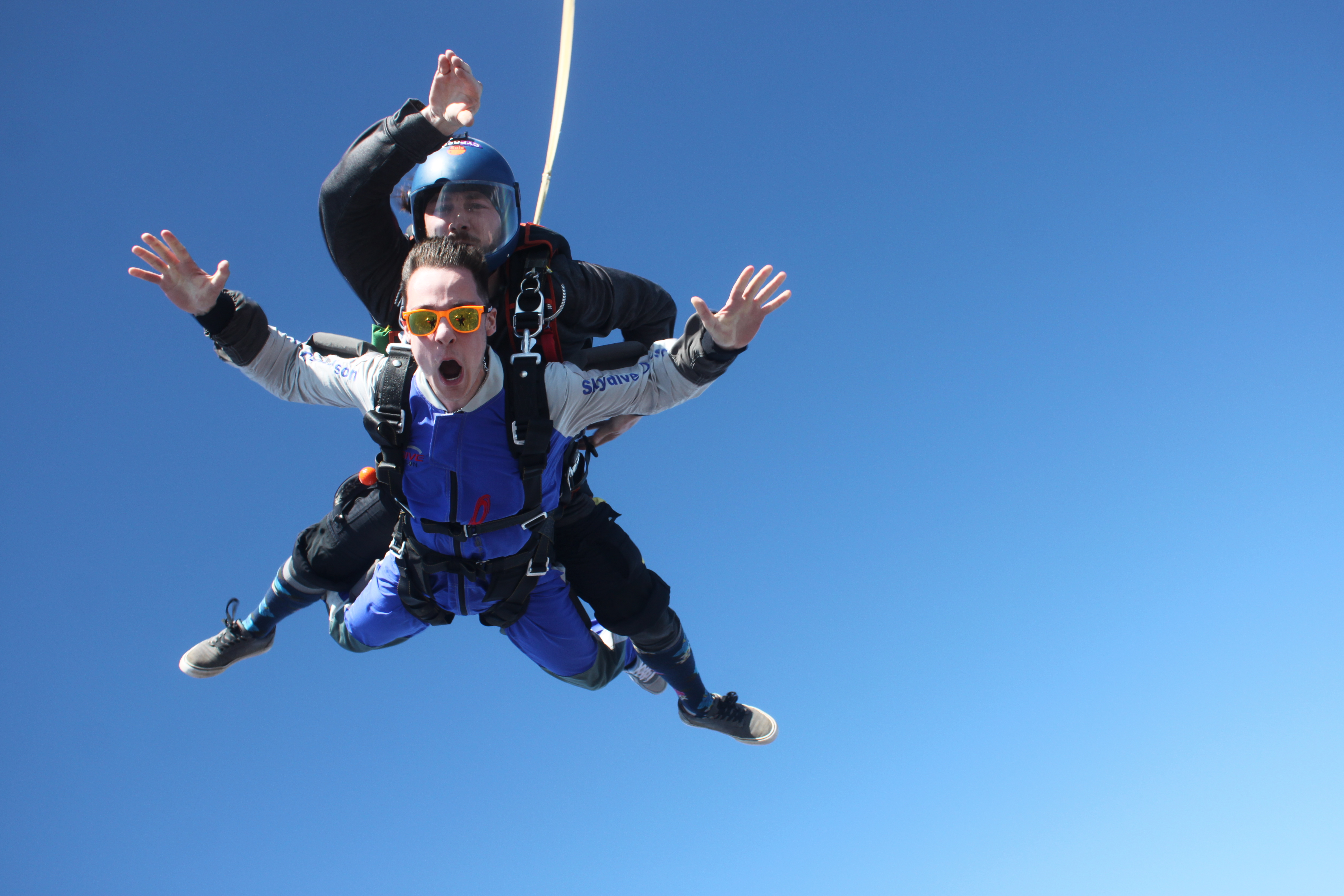 book a tandem skydive today with skydive danielson