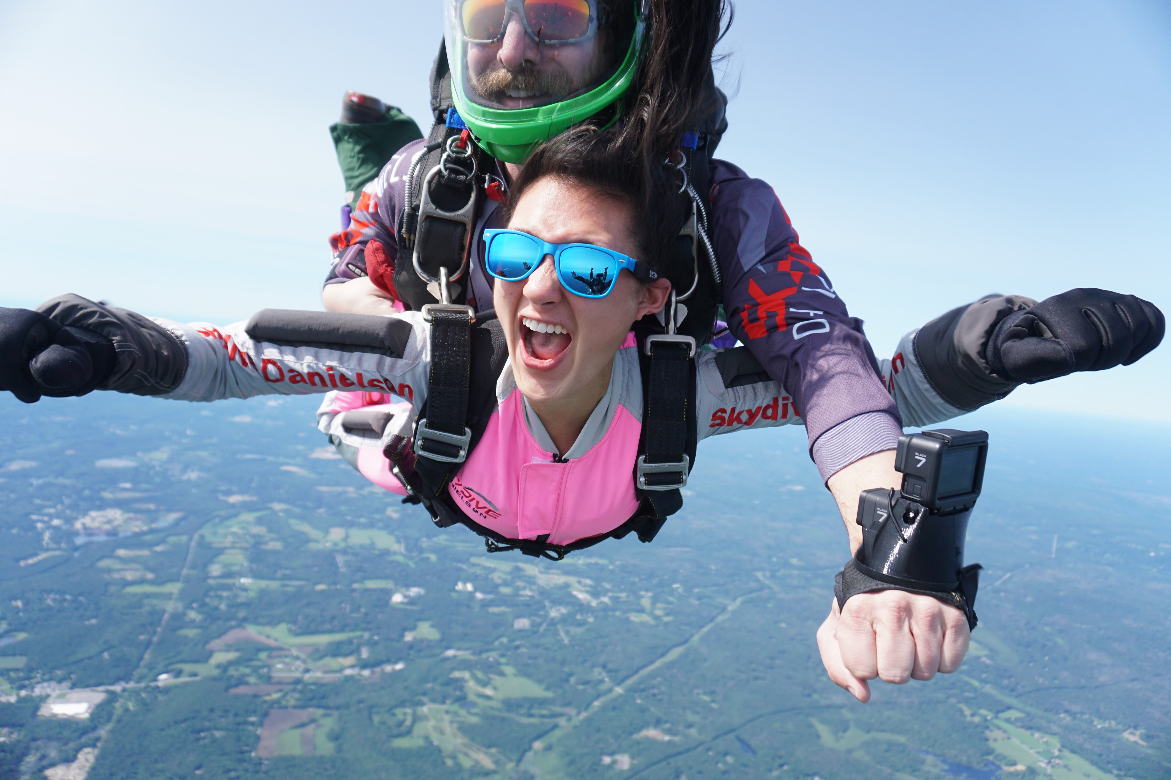 Ultimate Video package captures every first skydive moment