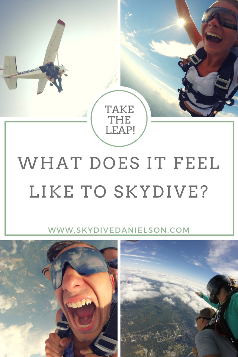 first skydive feeling