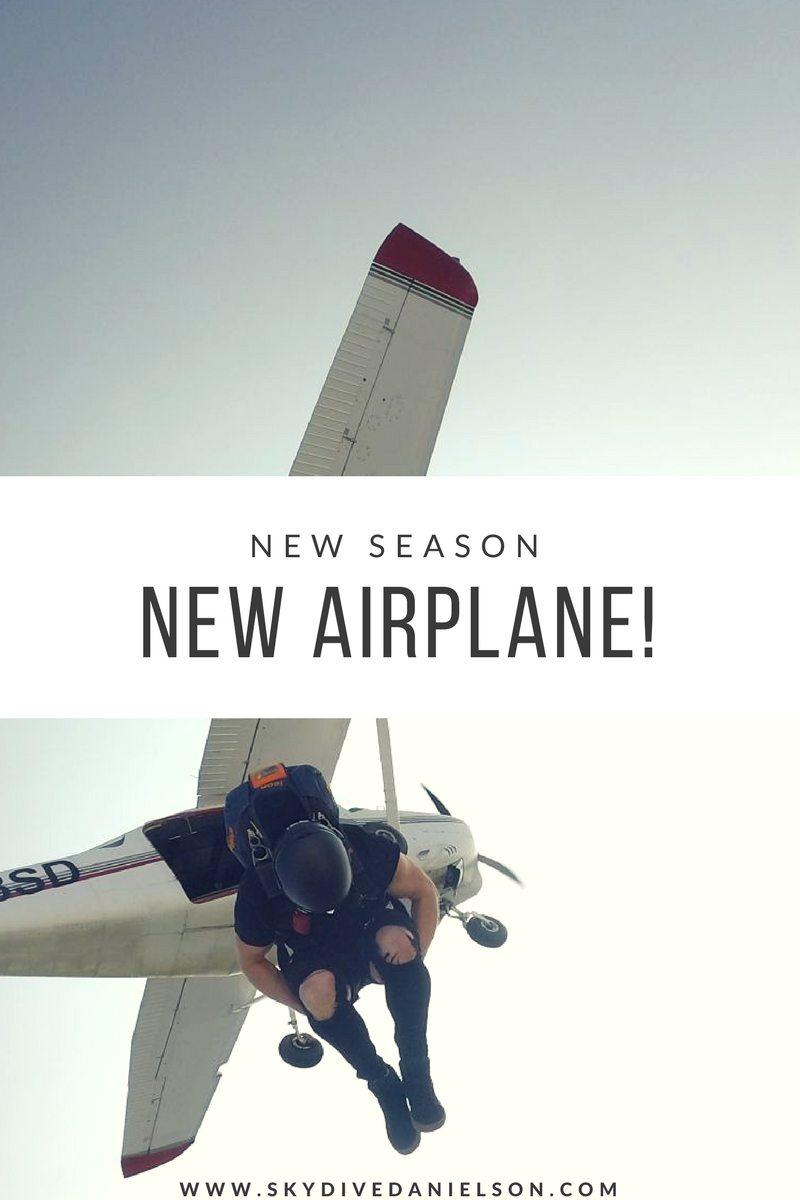 new season, new airplane